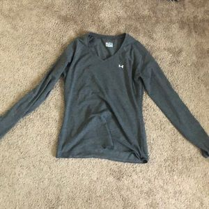 Long sleeve workout top